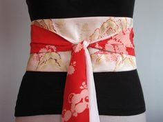 Moda Me Fabulous: Diseño de Proyecto: Cinturones Obi