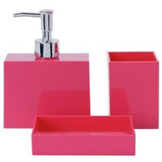 buy colourmatch accessory set funky fuchsia at argoscouk visit argos bathroom sets - Funky Bathroom Accessories Uk