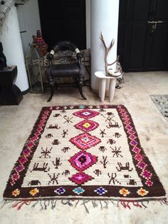 Top Shops: Favorite Sources for Moroccan Boucherouite Rugs