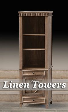 Bathroom Linen Towers from Tres Chic Home