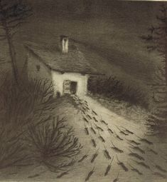 Alfred Kubin - an Austrian printmaker and illustrator, is considered an important representative of symbolism and expressionism. Alfred Kubin, Illustrator, Creepy Art, Dark Fantasy, Macabre, Traditional Art, Dark Art, Art History, Art Nouveau