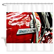 Indian tank badge - Shower Curtain