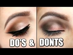 Three Step Eyeshadow For Beginners! ♡ Simple, Everyday - YouTube