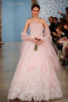 See All 168 Gorgeous Gowns From Bridal Fashion Week Spring 14: Oscar de la Renta Spring 2014