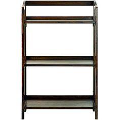 buy stratford 3 shelf folding bookcase today at jcpenneycom you deserve great deals and weve got - Folding Bookcase