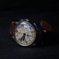 Aristo chronographe Valjoux 71.