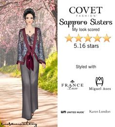 Sapporo Sisters @covetfashion #covet #covetfashion #covetfashionapp #fashion #womensfashion