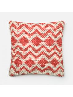 Pima Pillow, Red