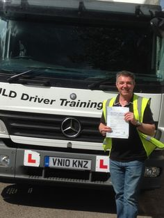 A happy customer who passed his Category C test with #JLD! #GettingItRightFirstTime
