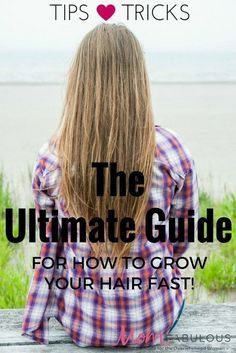 Welcome to The Ultimate Guide for How to Grow Your Hair Faster! If you are wanting to or are in the process of growing your hair out and are looking for tips & tricks, you're in the right place.