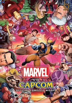 'Marvel vs. Capcom: Official Complete Works' Hardcover and Softcover Editions Announced