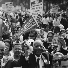 August 28, 2013 is the 50th anniversary of the March on Washington for Jobs & Freedom. Examine the March with these lessons, background resources, audios, and videos.