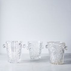 Vintage French Glass Ice Bucket on Food52