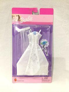 Barbie 90s, Barbie Outfits, Barbie And Ken, Barbie Clothes, Barbie Bridal, Barbie Wedding Dress, Barbie Dress, Dress Fashion, Fashion Dolls