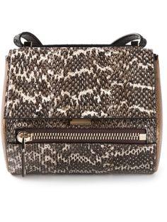 Givenchy - Small 'Pandora box' shoulder bag http://www.hiphunters.com/shop/givenchy-givenchy-small-pandora-box-shoulder-bag/53361c90bad020641855d422
