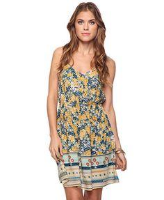 Mixed Daisy Print Dress | FOREVER21 - 2011409900
