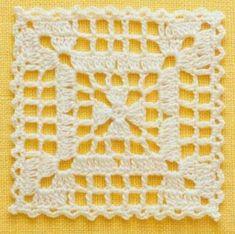 Transcendent Crochet a Solid Granny Square Ideas. Inconceivable Crochet a Solid Granny Square Ideas. Motifs Granny Square, Granny Square Crochet Pattern, Crochet Blocks, Crochet Motif, Crochet Doilies, Crochet Flowers, Crochet Stitches, Crochet Patterns, Flower Granny Square