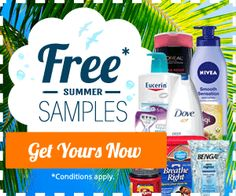 FREE Summer Samples from QualityHealth are Here! | Get FREE Samples by Mail | Free Stuff
