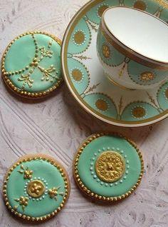 Porcelain Look Art Cookies