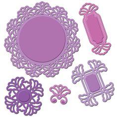 Spellbinders Shapeabilities Dies Vintage Lace Motifs