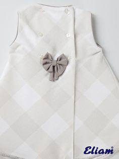 Vestido piqué de cuadros - Productos bebé de siempre - Bebé de siempre -  Tienda de ropa infantil Eliam 2e30ffd24bb
