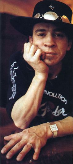 Stevie Ray Vaughan- I still miss this man.