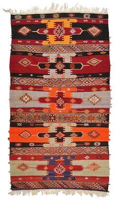 Vintage Sivas Kilim around 40 years old.