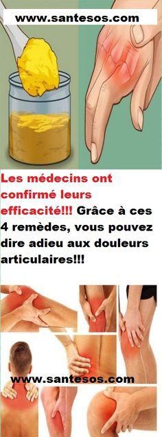 Les médecins ont confirmé leurs efficacité!!! Grâce à ces 4 remèdes, vous pouvez dire adieu aux douleurs articulaires!!!