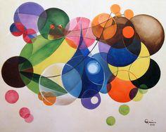"""""""Sonhos de Cabeceira"""" (Bedside Dreams)  Artist Quim Alcantara  Acrylic on canvas, 2010"""