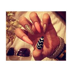 Tumblr ❤ liked on Polyvore featuring nails, makeup and pictures