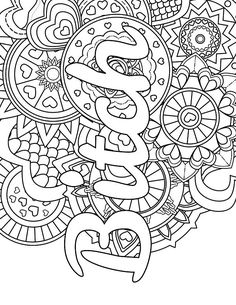 Mandala - Adult Coloring page - swear. 14 FREE printable coloring pages, Visit swearstressaway.com to download and print 14 swear word coloring pages. These adult coloring pages with colorful language are perfect for getting rid of stress. The free printable coloring pages that are given change, so the pin may differ from the coloring pages give at swearstressaway.com - Color & Swear