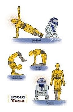 DownDog Funnies: Droid Yoga… From the Downdog Diary Yoga Blog found exclusively at DownDog Boutique. DownDog Diary brings together yoga stories from around the web on Yoga Lifestyle... Read more at DownDog Diary