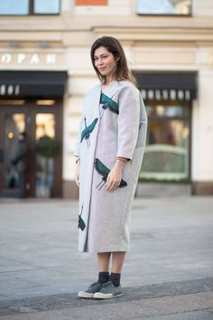 From Russia with love...the best new street style snaps in from Moscow Fashion Week, here: