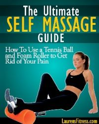 Tennis ball massage tight trigger points