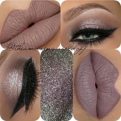 The color scheme within this makeup look is muted, but very attractive to the eye. Must try!