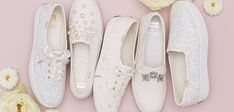 These Bridal Sneakers Will Be the Only Shoes You'll Want to Wear on Your Wedding Day