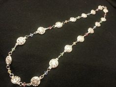 Silver Drops Necklace by LoveFromNikki on Etsy