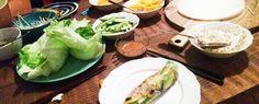 Gewoon wat een studentje 's avonds eet: Fresh Springrolls: Rijstbladen gevuld met Vietname...