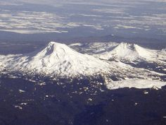 Sisters is the name of this Volcano in Oregon and also a wonderful western town in the Cascades.