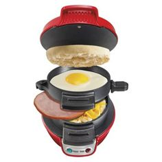 Hamilton Beach Breakfast Maker - Red