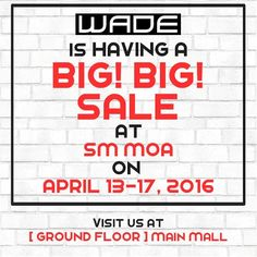 Check out outback steakhouse glorietta anniversary promo get 50 check out wade shoes at sm moa 5 day sale sale starts on april stopboris Gallery