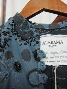 from these hands - Alabama Chanin detail