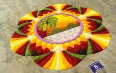 Best Onam Pookalam Designs