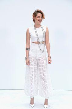 Kristen Stewart bei der Haute Couture Show 2015 von Chanel