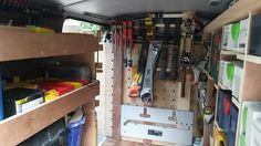 My Transporter T5 Van Systainer Racking