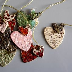 Hey, I found this really awesome Etsy listing at https://www.etsy.com/listing/208882107/christmas-heart-ornaments-random