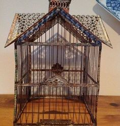 Image result for unusual vintage chinese birdcage