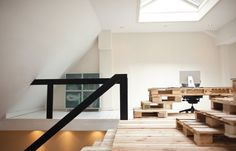 Most Architecture e l'ufficio fatto di Pallet