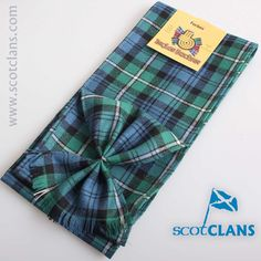 Forbes Ancient Tartan Mini Sash. Free worldwide shipping available