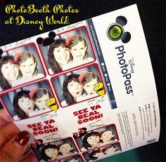 Photo Booth Photos at Disney World